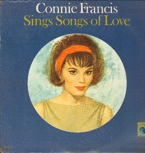 Francis, Connie - Connie Francis Sings Songs Of Love: Second Hand Love, Whover You Are I Love You, In Your Arms (Vinyl MONO LP record, DJ advance pressing) - NM9/VG7 - LP Records