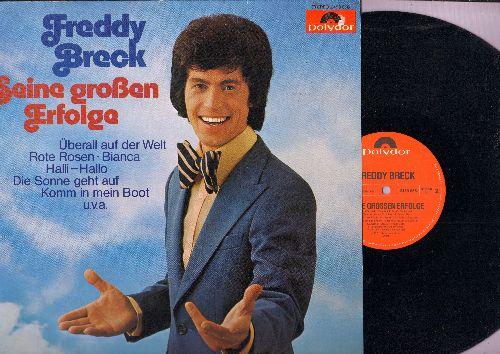 Breck, Freddy - Seine Grossen Erfolge: Uberall auf der Welt, Bianca, Rote Rosen, Komm in mein Boot, Irgendwann she'n wir uns wieder (vinyl STEREO LP record, German Pressing, sung in German) - M10/EX8 - LP Records