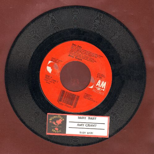 Grant, Amy - Baby Baby (2 versions of the hit with juke box label) - NM9/ - 45 rpm Records