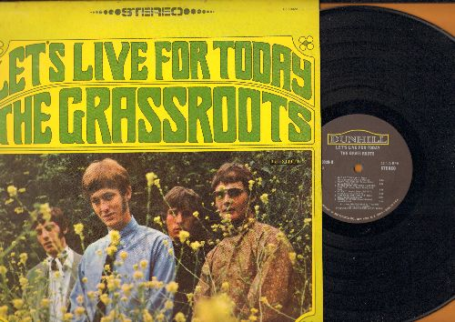 Grass Roots - Let's Live For Today: Tip Of My Tongue, Out Of Touch, This Precious Time, Things I Should Have Said (vinyl STEREO LP record) - EX8/EX8 - LP Records