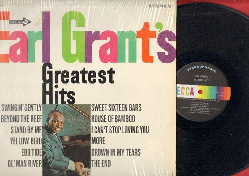 Grant, Earl - Earl Grant's Greatest Hits: The End, Beyond The Reef, Stand By Me, Ol' Man River, More, I can't Stop Loving You (Vinyl STEREO LP record, shrink wrap still on cover) - NM9/NM9 - LP Records