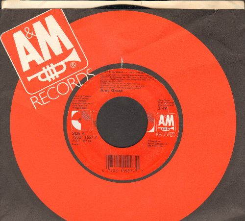 Grant, Amy - Every Heartbeat (Heart & Soul Mix)/Every Heartbeat (Body & Soul Mix) (with company sleeve) - NM9/ - 45 rpm Records