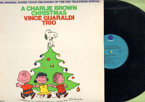 Guaraldi, Vince Trio - A Charlie Brown Christmas - The Original Sound Track Recording Of The CBS TV Special (vinyl STEREO LP record) - NM9/NM9 - LP Records