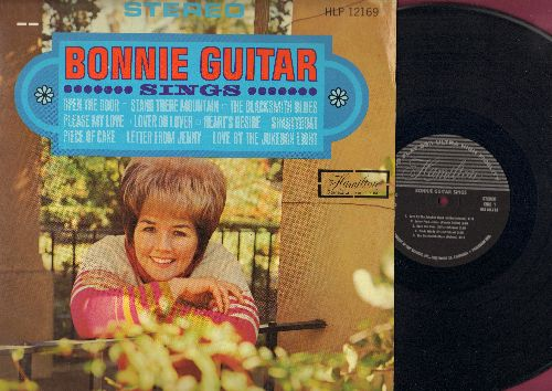 Guitar, Bonnie - Bonnie Guitar Sings: Open The Door, Piece Of Cake, Love By The Jukebox Light, Heart's Desire, Letter From Jenny (Vinyl STEREO LP record) - NM9/NM9 - LP Records