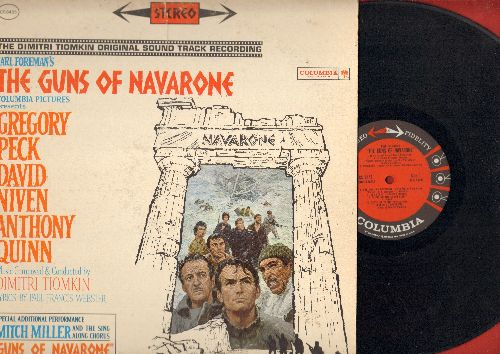 Tiokin, Dimitri - The Guns Of Navarone - Original Motion Picture Soundtrack (Vinyl STEREO LP record) - VG7/VG7 - LP Records