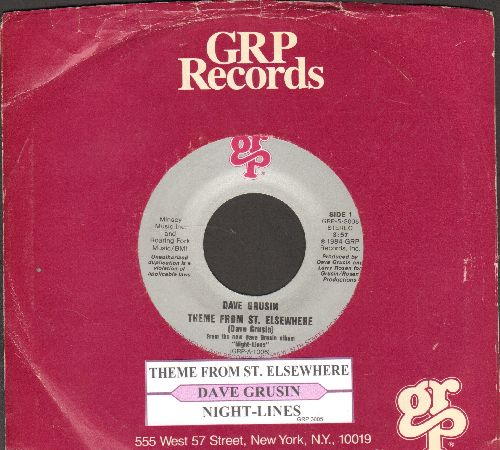 Grusin, Dave - Theme From St. Elsewhere/Night-Lines (withjuke box label and company sleeve) - NM9/ - 45 rpm Records