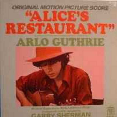 Guthrie, Arlo - Alice's Restaurant: Original Motion Picture Score (Vinyl LP record) - NM9/VG7 - LP Records