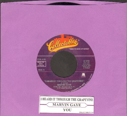Gaye, Marvin - I Heard It Through The Grapevine/You (re-issue with juke box label) - NM9/ - 45 rpm Records