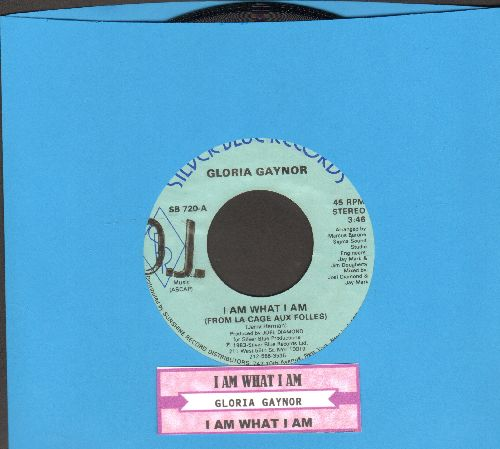 Gaynor, Gloria - I Am What I Am (From La Cage Aux Folles) (double-A-sided DJ advance pressing with juke box label) - NM9/ - 45 rpm Records