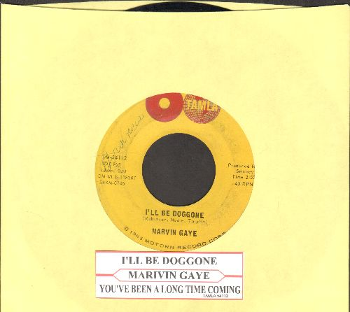 Gaye, Marvin - I'll Be Doggone/You've Been A Long Time Coming (with juke box label) - VG7/ - 45 rpm Records