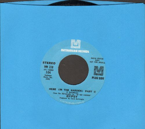 Gypsy - Here (In The Garden) (Part II) (double-A-sided DJ advance pressing) - NM9/ - 45 rpm Records