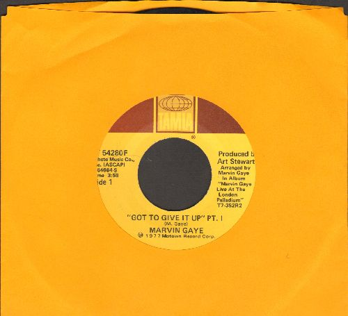 Gaye, Marvin - Got To Give It Up (Parts 1+2)  - EX8/ - 45 rpm Records