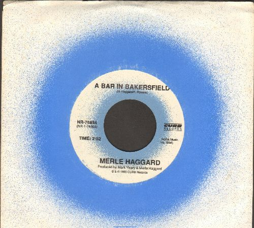 Haggard, Merle - A Bar In Bakersfield/Lucky Old Colorado (with Curb company sleeve) - NM9/ - 45 rpm Records