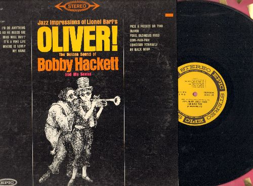 Hackett, Bobby & His Sextet - Oliver! - Jazz Impressions: Pick A Pocket Or Two, Consider Yourself, Who Will Buy?, It's A Fine Life (vinyl STEREO LP record) - NM9/EX8 - LP Records