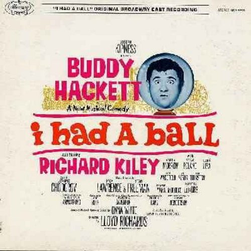 Hackett, Buddy - I Had A Ball: Origianal Broadway Cast Album (Vinyl MONO LP record) (includes color-picture album) - NM9/EX8 - LP Records