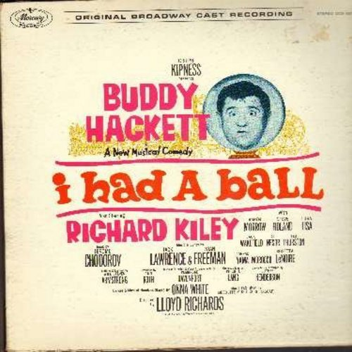 Hackett, Buddy - I Had A Ball: Origianal Broadway Cast Album (Vinyl MONO LP record) (includes color-picture album) - NM9/VG7 - LP Records
