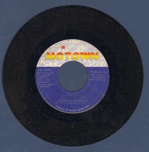 Jackson, Michael - Dear Michael/Just A Little Bit Of You - EX8/ - 45 rpm Records