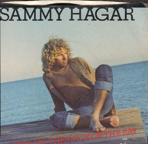 Hagar, Sammy - (Sittin' On) The Dock Of The Bay/I've Done Everything For You (with picture sleeve) - NM9/NM9 - 45 rpm Records