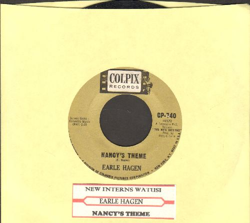 Hagen, Earle - New Interns Watusi/Nancy's Theme (with juke box label) - EX8/ - 45 rpm Records