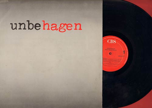Hagen, Nina - Unbehagen: Wenn ich ein Junge waer, African Reggae, Herrmann hiess er, Fall in Love mit mir, No Way, Wir leben immer noch (Lucky Number), Auf'm Rummel (Vinyl STEREO LP record, German Pressing, sung in German and English) - NM9/EX8 - LP Recor