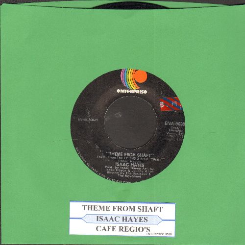 Hayes, Isaac - Theme From Shaft (Oscar Winner - Best Song 1971)/Café Regios (with juke box label) - VG7/ - 45 rpm Records