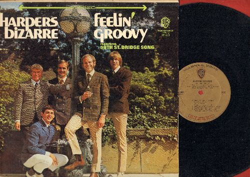 Harpers Bizarre - Feelin' Groovy: Happy Talk, Come To The Sunshine, 59th Street Bridge Song (Feelin' Groovy), The Debutante's Ball (vinyl STEREO LP record, gold label early pressing) - NM9/VG7 - LP Records