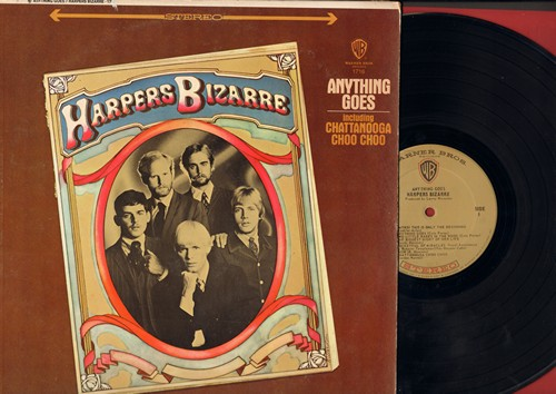 Harpers Bizarre - Anything Goes: Chatanooga Choo Choo, This Is Only The Beginning, Pocketful Of Miracles, Milord, Snow (Vinyl LP record) - EX8/VG6 - LP Records