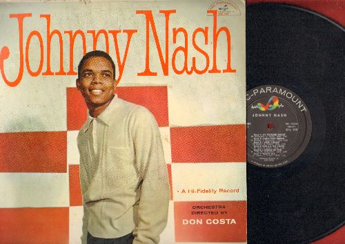 Nash, Johnny - Johnny Nash: Like Someone In Love, My Foolish Heart, Darn That Dream, For All We Know, That's All (Vinyl MONO LP record) - EX8/EX8 - LP Records