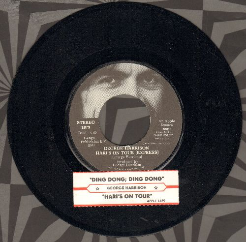 Harrison, George - Ding Dong; Ding Dong/Hari's On Tour (Express) (with juke box label) - NM9/ - 45 rpm Records