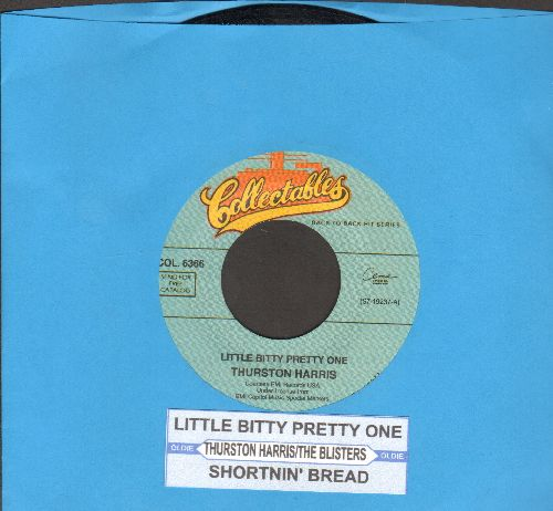 Harris, Thurston - Little Bitty Pretty One/Shortnin' Bread (by The Blisters on flip-side) (double-hit re-issue with juke box label) - NM9/ - 45 rpm Records