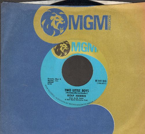 Harris, Rolf - Two Little Boys/I Love My Love (with MGM company sleeve) - NM9/ - 45 rpm Records