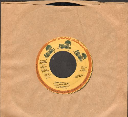 Harrison, George - When We Was Fab/Zig Zag - EX8/ - 45 rpm Records