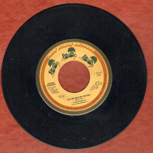 Harrison, George - Got My Mind Set On You/Lay His Head - EX8/ - 45 rpm Records