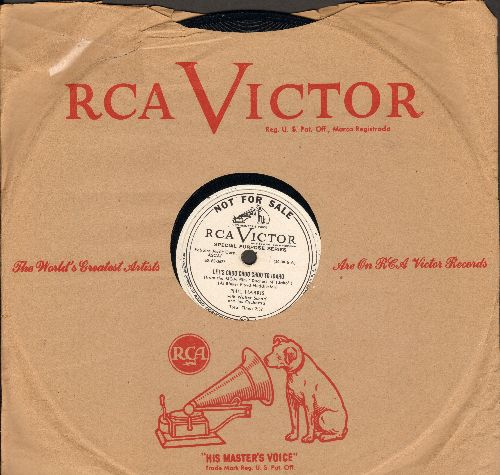 Harris, Phil - Let's Choo Choo Choo To Idaho/You Can't Do Wrong Doin' Right (10 inch 78 rpm record, DJ advance pressing with RCA company sleeve) - NM9/ - 78 rpm