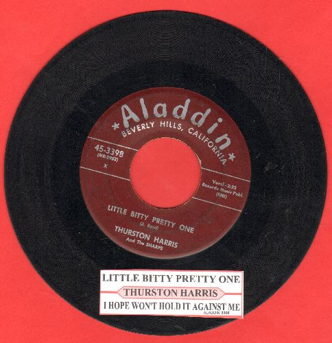 Harris, Thurston - Little Bitty Pretty One/I Hope You Won't Hold It Against Me (with juke box label) - VG6/ - 45 rpm Records