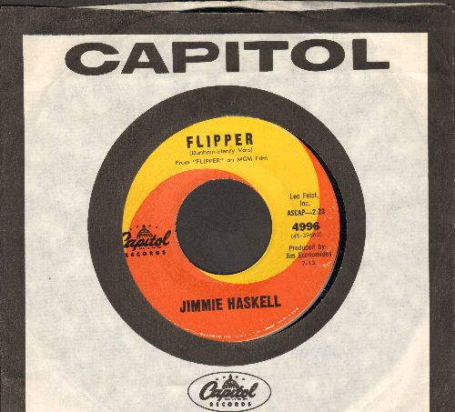 Haskell, Jimmie - Flipper/The Great Escape March (with vintage Capitol company sleeve) - NM9/ - 45 rpm Records
