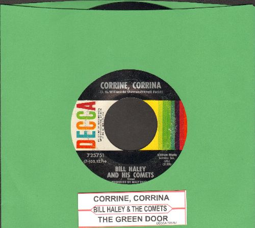Haley, Bill & His Comets - Corrine, Corrina/The Green Door (with juke box label) - EX8/ - 45 rpm Records