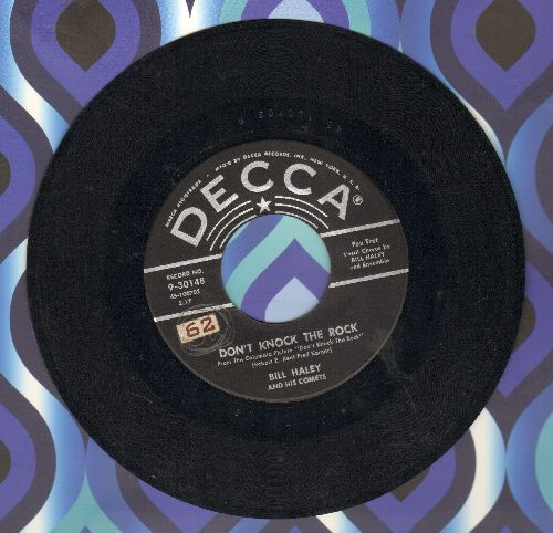 Haley, Bill & His Comets - Don't Knock The Rock/Choo Choo Ch'Boogie  - EX8/ - 45 rpm Records