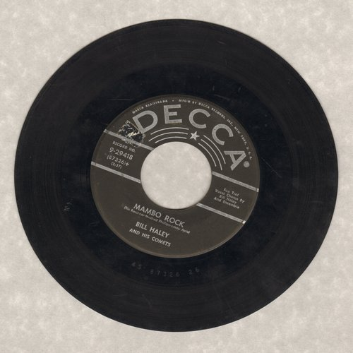 Haley, Bill & His Comets - Birth of the Boogie/Mambo Rock (star/lines) - VG7/ - 45 rpm Records