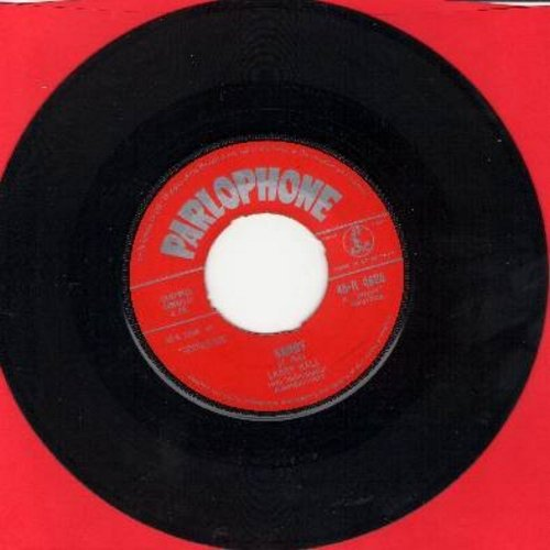 Hall, Larry - Sandy (PARLOPHONE) (Every Sweet Thing, Like Sugar And Spice)/Lovin' Tree (British Pressing) - EX8/ - 45 rpm Records