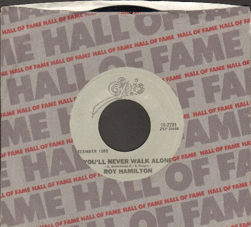 Hamilton, Roy - You'll Never Walk Alone/Don't Let Go (double-hit re-issue with Epic company sleeve) - M10/ - 45 rpm Records