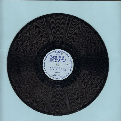 Bell, Benny - Benny Bell Blesses A Bride/Misfortune What Do You Want? (10 inch 78 rpm record) - EX8/ - 78 rpm