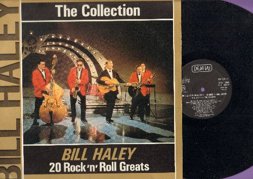 Haley, Bill  - Bill Haley - The Collection: 20 Rock'n'Roll Greats (Vinyl STEREO LP record, 1986 Italian re-issue of vintage recordings) - NM9/EX8 - LP Records