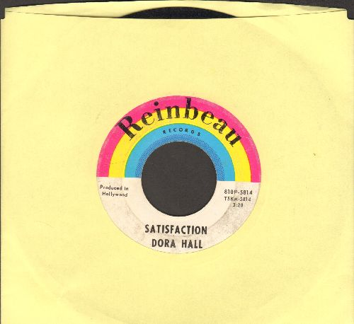Hall, Dora - Satisfaction/5 O'Clock World - VG7/ - 45 rpm Records