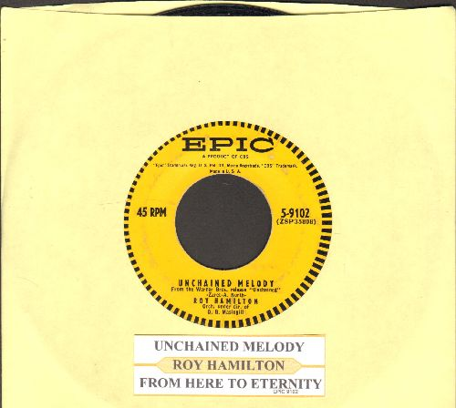 Hamilton, Roy - Unchained Melody/From Here To Eternity (with juke box label) - VG7/ - 45 rpm Records