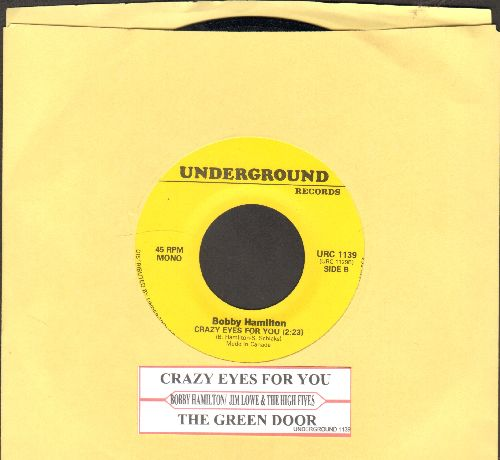 Hamilton, Bobby - Crazy Eyes For You/The Green Door (by Jim Lowe on flip-side)(with juke box label) - EX8/ - 45 rpm Records