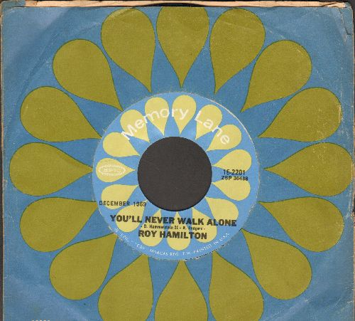 Hamilton, Roy - You'll Never Walk Alone/Don't Let Go (double-hit re-issue with Epic company sleeve) - NM9/ - 45 rpm Records