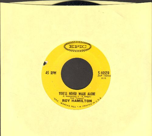 Hamilton, Roy - You'll Never Walk Alone/The Golden Boy (bb) - EX8/ - 45 rpm Records