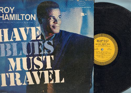 Hamilton, Roy - Have Blues Must Travel: Sophisticated Lady, A Cottage For Sale, Stormy Weather, I Got It Bad And That Ain't Good 9vinyl MONO LP record) - EX8/EX8 - LP Records