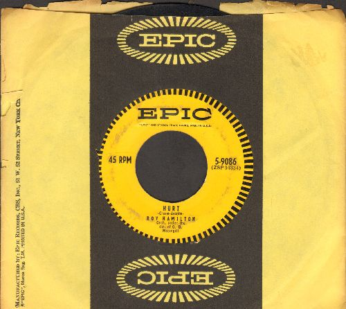Hamilton, Roy - Hurt/Star Of Love (with Epic company sleeve) - VG7/ - 45 rpm Records